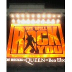 「WE WILL ROCK YOU」に行きました